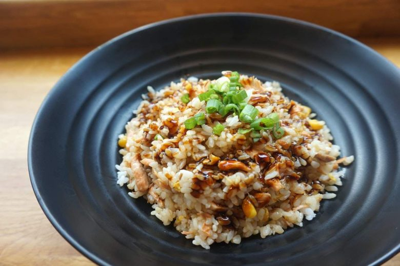 Home cooked rice