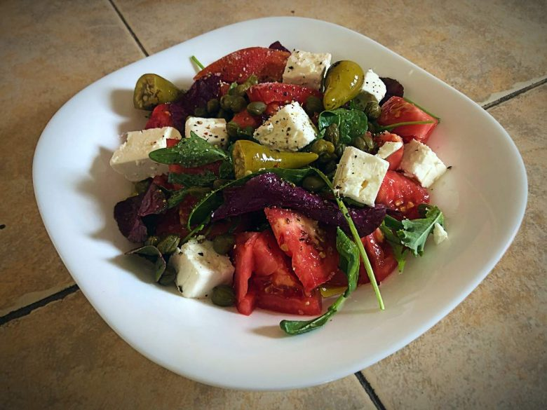 Make Mediterranean Tomato and Feta Salad