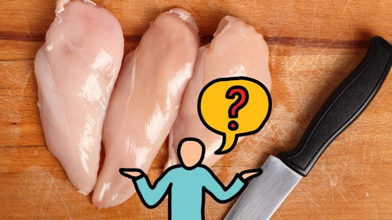 How to Clean Your Knife After Cutting Raw Chicken