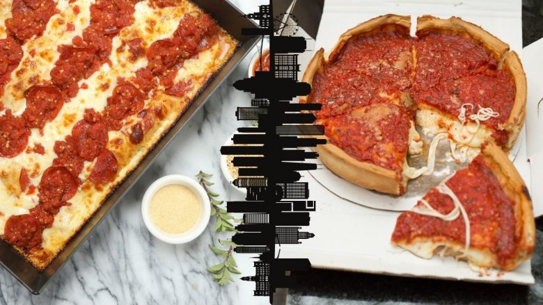 Detroit-Style vs. Chicago-Style Deep-Dish Pizza