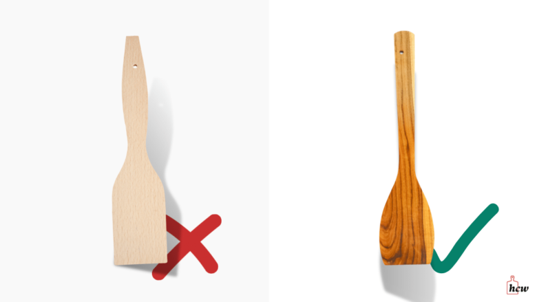 What to look for when buying a wooden spatula